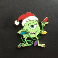 Mike Wazowski Holiday Lights Monsters Inc. Disney Pin 25569