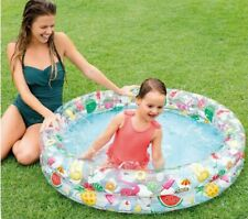 Intex Children Kids Paddling Swimming Pool 122cm 4ft Garden Play Inflatable Pool