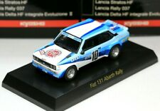 New ListingKyosho 1/64 Fiat & Lancia Collection Fiat 131 Abarth Rally No.10 1978