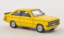 Neo Ford Escort II Sport RHD mit RS-Paket gelb yellow, 1:87 Neu + OVP Lim H0