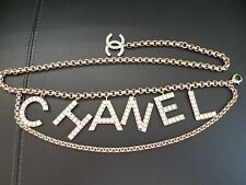 Rare Authentic 2019 SS Chanel Chain Belt