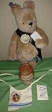 Autographed R. John Wright's Winnie the Pooh, 1st Ann. W. Disney Teddy Bear Conv