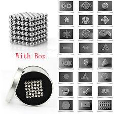 Fidget Magnet Balls Magic 3D Puzzle Ball Sphere Magnetic Cube Toy 3MM 216PCS