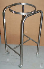 Blickman 7807SS-HB Single Basin Solution Stand with H Brace