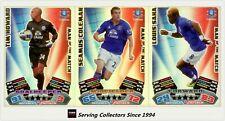 2011-12 Match Attax EPL Soccer Man Of Match Foil Card Team Set (3)-Everton