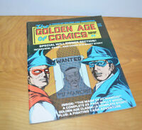 Vintage THE GOLDEN AGE OF COMICS Comic Book Magazine #2 1982 Will Eisner Spirit