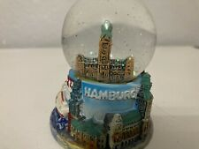 Collectable 2-3 Inch Hamburg Snow Globe W Local Accents
