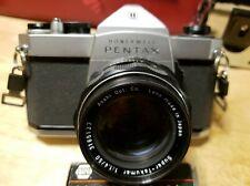 Honeywell Pentax Spotmatic SP1000 35mm SLR Film Camera Asahi Super Takumar 50mm
