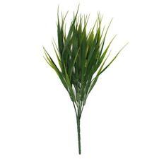 3X(Flor planta hierba verde de plastico artificial Decoracion del jardin of R1W5