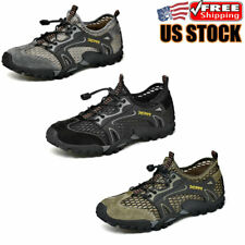Men's Athletic Sneaker Hiking Climbing  Wading Breathable Casual Walking Shoes