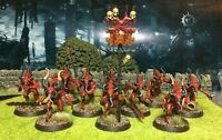 Beautifully Painted Daemons of Khorne Starter Army - Warhammer 40k Age of Sigmar