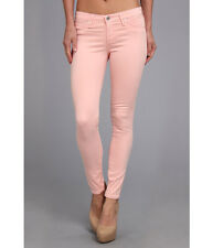 NWT AG Adriano Goldschmied The Zip-Up Legging Ankle in Pink Haze Stretch Jean 30