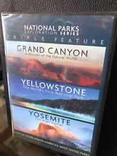 National Park Exploration Series - Grand Canyon, Yellowstone, Yosemite (DVD) NEW