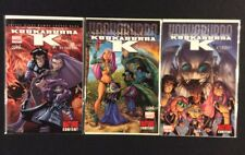KOOKABURRA K #1 - 3 Comic Books All SIGNED Humberto RAMOS COA Marvel 2009 NM
