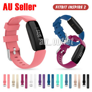 Replacement Silicone Watch Wrist Sports Band For Fitbit Inspire 2 Wristband