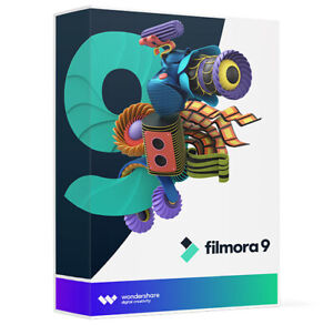 Wondershare Filmora 9 Full Version, Win/Mac, Download