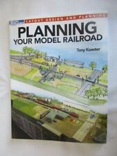 Model Railroader How-To-Books, Planning Your Model Railroad