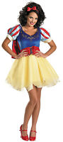 Disguise Disney Princess Snow White Costume Prestige Young Adult Size Jr 7-9 NEW