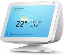 Introducing Amazon Echo Show 8 with Alexa - White