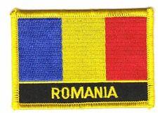 Aufnäher Siebenbürgen Rumänien Fahne Flagge Aufbügler Patch 9 x 6 cm