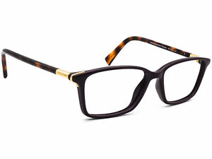 Coach Eyeglasses CH 6077 5335 Purple Dark Tortoise Square Frame 53[]15 135