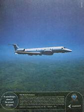 4/2003 PUB AVION EMBRAER EMB-145 RS/AGS SURVEILLANCE RECONNAISSANCE FORET AD