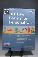 101 Law Forms for Personal Use -  Book with CD-Rom (4th Edition)