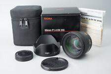 Sigma 50mm f/1.4 F1.4 EX DG HSM AF Lens, For Nikon F Mount, Boxed