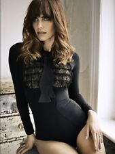 Agent Provocateur Black Theadora / Theodora Bodysuit - Size AP 2 / UK 8 - New