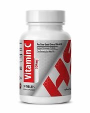Vitamin C 500mg. Support Immune System. (1 Bottle, 30 Tablets)