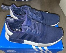 Adidas NMD R1 Collegiate Navy Mesh Size 10 S79161