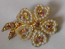 Hearts & Love Vintage Costume Brooches/Pins (1980s)