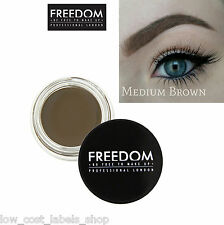Freedom Makeup Eyebrow Definition  Pro Brow Pomade Medium Brown