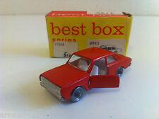 Best Box (NL) - 2511 - Ford Taunus 17M rouge en boîte d'origine (1/86)