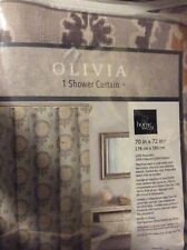Homewear Linens Olivia Single Shower Curtain