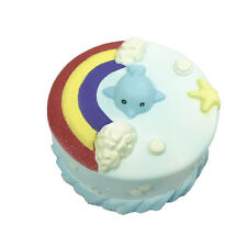 12CM Jumbo Squishy Sea Dolphin Cake Scented Super Slow Rising Kids Toy Cute