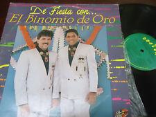 EL BINOMIO DE ORO - De Fiesta Con El Binomio De Oro, LP VENEZUELA 1990 VALLENATO