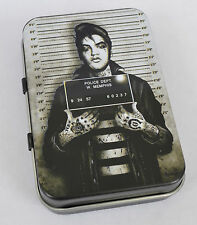 SCREAMING DEMONS ELVIS PRESLEY TATTOO ROCKABILLY ROCK  & ROLL TCB KING TIN