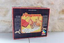 Vintage - Le Pyrograveur - Jeux Laffont - Art & Création - Gravure sur Bois