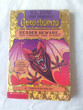Trapped in Bat Wing Hall by R. L. Stine (Paperback, 1995)  # 3