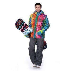 Ski Suit Outdoor Waterproof Jumpsuit Snow Jacket and Pants Set Snowboard Suit