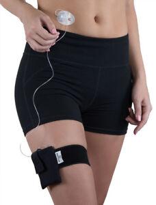 Black Diabetic Athletic Neoprene Insulin Pump Case with Belt by PumpCases