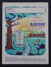 Protège cahier AMORA AURORE COQ COKE copybook cover Wachbuch