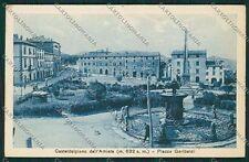 Grosseto Castel del Piano FORO cartolina QQ3473