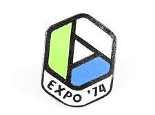 Enamel Pin with 1974 Spokane World Fair Logo