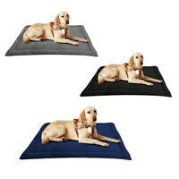 Dog Bed Mat, Dog Crate Pad Mat, Dog Mattress Washable Blankets Anti-Slip Pe A1I6