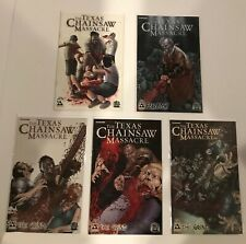 LOT OF 5 TEXAS CHAIN SAW MASSACRE THE GRIND #1-3 SET + SPECIALS (GORE) AVATAR