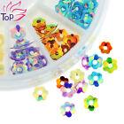 Blueness 1 Wheel 3D Nail Beads Art Acrylic Alloy Rhinestones Decoration Manicure