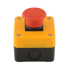 1PCS Red Sign Emergency Stop Button Actuator Switch Weatherproof 660V 10A AC