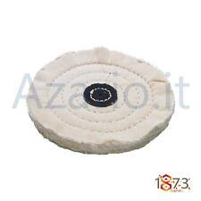 Spazzola cotone 50 lamelle ø 125 mm lucidatura orafi Unbleached Calico Buff tool